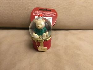 Harrods Christmas Bear Hanging Globe