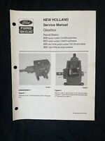 New Holland Service Manual Gearbox 848,853,855 *1083-85