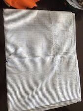 Ralph Lauren twin top sheet blue & white stripe