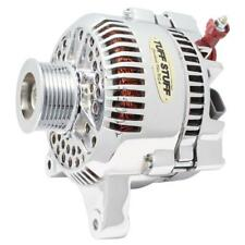 Tuff Stuff Alternator 7791DP; 3G 200 Amp Polished OE-Wire w/ 8-Groove Pulley