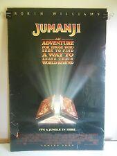 Jumanji (1995) Original Double Sided Movie Poster Robin Williams 27x40