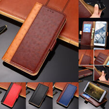 Luxury Ostrich Leather With Stand Fashion Hit Color Cases For Sony L3 XA3 Z6 XZ3
