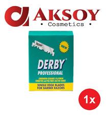 1 x Derby 100er Professional Jilet Blattklingen Rasierklingen Rostfrei