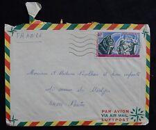 Y20* Enveloppe /Pli postal /Dahomey -> France AIR-MAIL / PAR-AVION