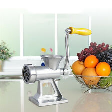 Aluminum Alloy Silver Manual Meet Grinder Sausage Machine Kits For Kitchen Tool