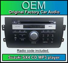 Suzuki SX4 radio CD MP3 player, Suzuki PACR06 car stereo, Supplied + code