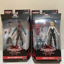 Marvel Legends  Into The Spider-Verse Miles Morales Spider-Man and Gwen Stacy