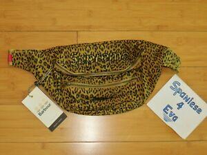 Supreme x Barbour waxed cotton waist bag leopard S/S 2020