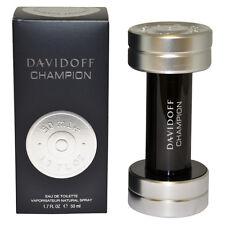 Davidoff Champion by Davidoff For Men 1.7 oz Eau de Toilette Spray In Box Sealed