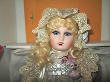"""Mundia Doll """"Violette"""" wooden jointed body with porcelain head *limited 500 *COA"""