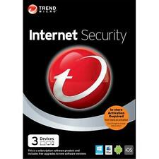 Trend Micro Internet Security - 3 - Device - 6 Months Subscription 2014