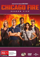 Chicago Fire : Season 5 (DVD, 6-Disc Set) NEW