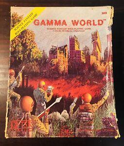 TSR Gamma World Gamma World 1978