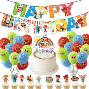 Cocomelon Happy Birthday Party Set Party Supplies Decoration AU