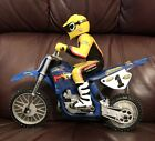 Vintage Tyco RC Dirt Bike Motorcycle - #1 Chaparral / Jeremy McGrath