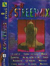Various Calle 8 Street Mix CASSETTE ALBUM Latin Electronic Tropical Club/Dance