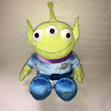 "Disney Store Green Alien Toy Story Exclusive Plush 14"" Stuffed Animal Vintage"