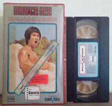 VHS FILM Deutsch Azione BRUCE LEE DER SPRINGENDE PANTHER ex nolo no dvd(VHS16)