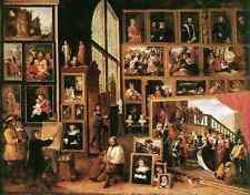 David Teniers the Younger la galleria di ARCHDUKE Leopold a Bruxelles 1639 A4 pr