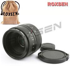 35mm f/1.6 C mount wide CCTV Lens Body for APS-C sensor camera NEX M4/3 FX OMD