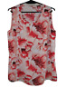 MILLERS WOMAN | Summer Asymmetrical Sleeveless Blouse Top | Floral | Size 12
