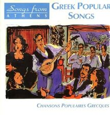 Greek Popular Songs: Songs from ATHENS;CHANSONS POPULAIRES GRECQUES CD (1999)