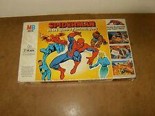 Ancien jeu de société MB - SPIDERMAN et les QUATRE FANTASTIQUES - 1977 - MARVEL