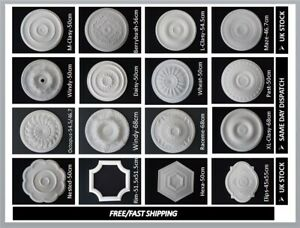 Ceiling Rose Polystyrene Easy Fit Very Light Weight From Same Day Shipping