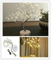36/108 LED Copper Wire Lamp Xmas String Night Light Tree Light Garland Decor hi