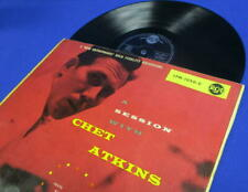 LP CHET ATKINS - A SESSION WITH..// *** 1955 GERMAN RCA **** 1st PRESS. TOP OPEN