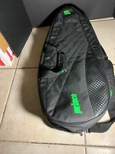 Prince 2 Compartment Tennis Bag 6/9 Rackets Black/green Nice!