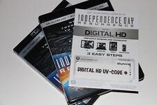 DIGITAL HD UV Independence Day Resurgence FULL MOVIE CODE-CANADIAN CODE-READ !!!