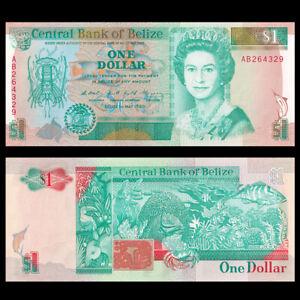 Belize 1 Dollar, 1990, P-51, UNC