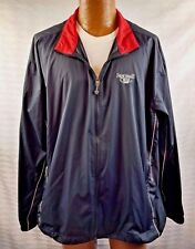 NIKE GOLF JACKET WINDBREAKER FULL ZIP LS Frenchmans Creek Golf Club PBG FLORIDA