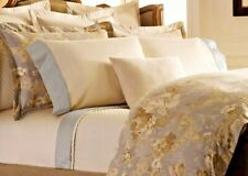 Ralph Lauren Hathersage Queen Flat Sheet Emilia Hollywood Cream  retail $145