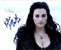 Katie McGrath Autographed Signed 8x10 Photo ( Jurassic World ) REPRINT