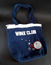 Borsa WINX Borsetta Winx CLUB DA RAGAZZA Bambina Bimba BLU TESSUTO FELPATO