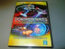 Star Trek Deep Space Nine DS9  Dominion wars ORIGINAL PC game     VGC