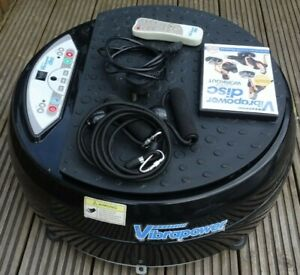 Vibropower Disc Plate - Vibrating Plate - Strength, Flexibility & Weight Loss