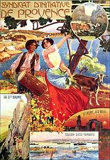 Affiche chemin de fer PLM - Provence