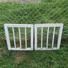 """Pair of 2 Antique Vintage Architectural Salvage Window Farmhouse 21"""" by 19.75"""""""
