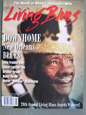 LIVING BLUES Magazine #226 (2013) NEW ORLEANS DOWNHOME BLUES Bobby Bland tribute