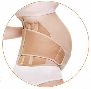Maternity Belly Band Belt Super Light Stretchable Supportive Washable 2 Colors