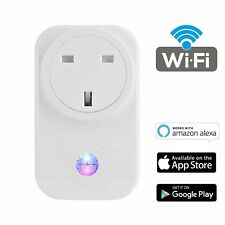 Wireless Smart WiFi Socket 2G/3G/4G Timer Outlet Switch UK Plug For Amazon Alexa