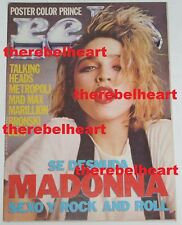 MADONNA 1985 Magazine RARE PROMO PHOTO Bronski Beat TINA TURNER Talking Heads