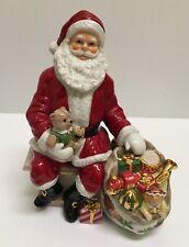 ❤ROYAL DOULTON ROYAL ALBERT OLD COUNTRY ROSES SANTA CHRISTMAS FIGURE FIGURINE❤