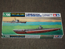 Tamiya 1/700 Scale U.S. Submarine Gato Class and Japanese Submarine Chaser No.13