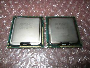 Matched Pair Intel Xeon X5675 3.06 GHz 6 Core 12M Processor LGA1366 SLBYL