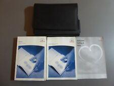 GENUINE TOYOTA AVENSIS OWNERS MANUAL HANDBOOK WALLET 2003-2008 PACK L-471 !