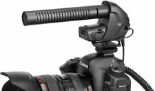 BOYA BY-BM3031 Broadcast Microphone with Windshield for Canon/Nikon/Sony Cameras